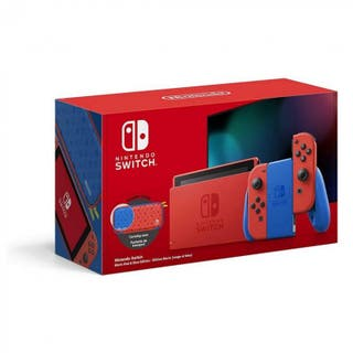 Nintendo Switch Edición limitada Mario Precintada