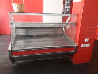 mostradores frigoríficos y arcón congelador