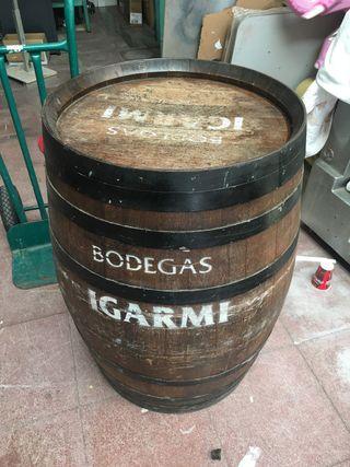 Barrica barril de vino 1m altura