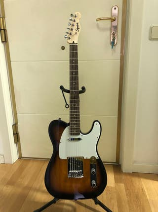 Fender squier bullet telecaster+funda