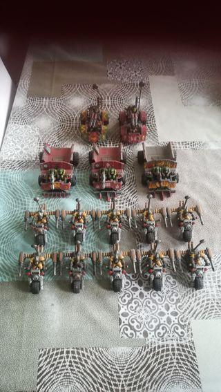 lote vehículos orcos warhammer 40000