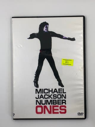 DVD Michael Jackson Number Ones 91 Dolby 5.1