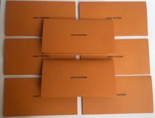 Sobres tipo Carta Louis Vuitton como nuevos