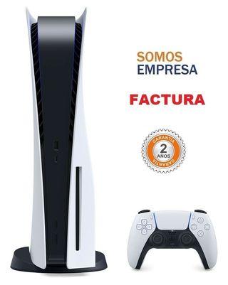 Playstation 5 con Lector Somos Tienda Factura