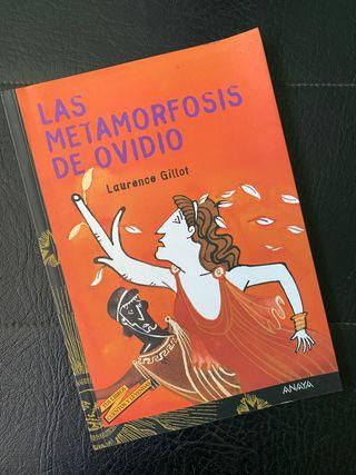 Libro las metamorfosis de Ovidio