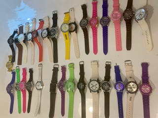 Lote Relojes Pulsera Hombre Mujer