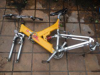 Cuadro bici aluminio