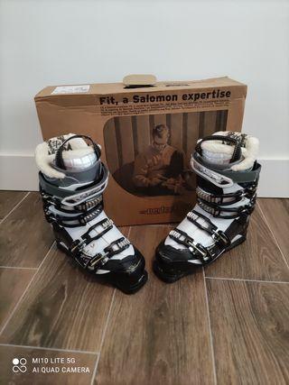 botas esquí Salomón mujer