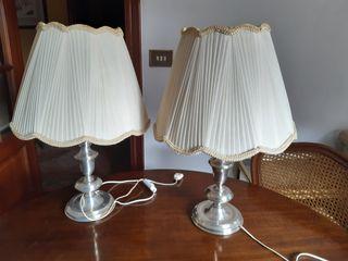 Conjunto lámparas de mesa vintage