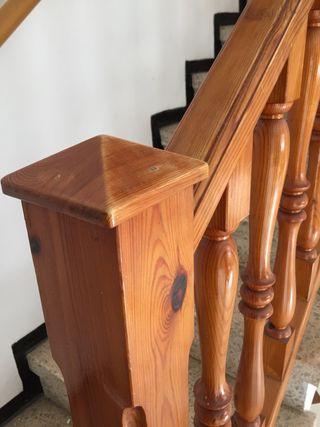 Barandilla de madera