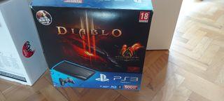 PACK PS3 SLIM 500 GB + 2 JUEGOS