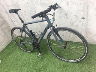 Bicicleta urbana gravel aluminio talla 56
