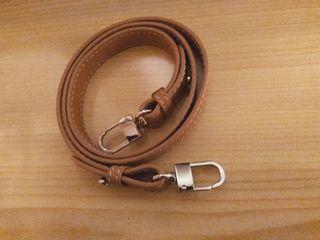 Correa marrón para bolso
