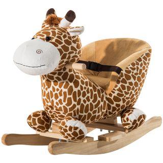 Caballito Balancín Girafa para Bebé +18 Meses Bala