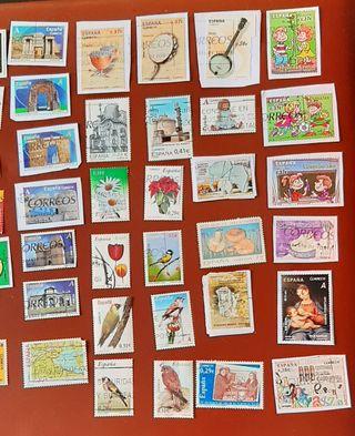 105 sellos de España