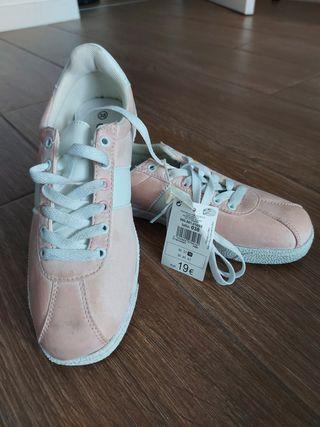 zapatillas rosas 38