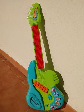 Guitarra eléctrica de juguete