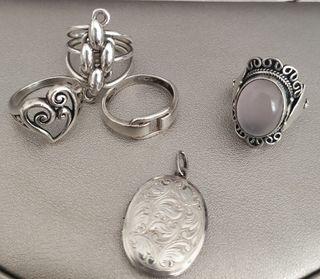 Lote Joyas de plata