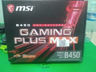Placa base MSI B450 gaming plus max