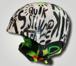 Casc esquí per canalla marca QUIKSILVER