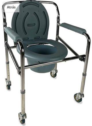 Silla con WC plegable MOBICLINIC NUEVO