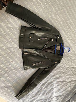 Cazadora chaqueta cuero
