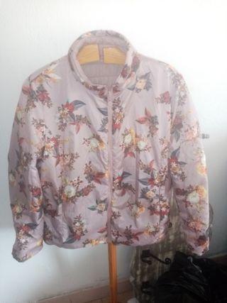 chaqueta reversible ligera talla 50