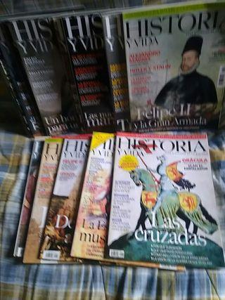 revistas Historia y vida