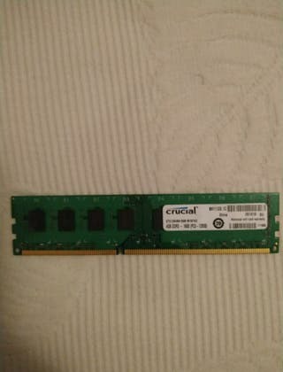 Memoria ram Crucial 4Gb DDR3 - 1600 PC3 - 12800
