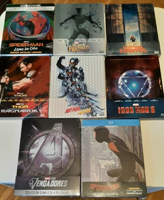 Lote 8 steelbooks bluray MARVEL