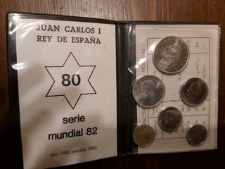 Estuche monedas Mundial 82