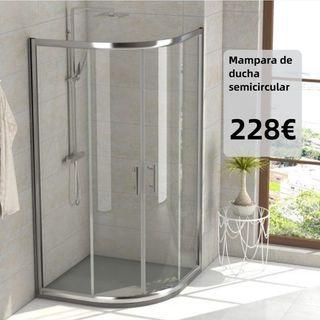 Mampara de ducha Semicircular DESDE 228€