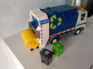 camión de reciclaje Playmobil