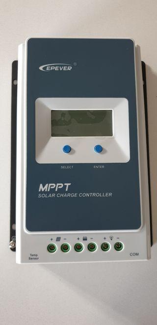 Regulador MPPT placa solar 10 Amperios 12v 24v