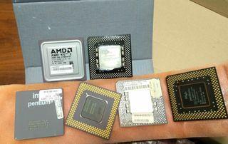 Procesadores x86 intel Pentium MMX y AMD K6