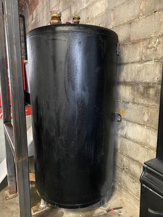 DEPÓSITO DE GASOIL DE HIERRO DE 1000 litros