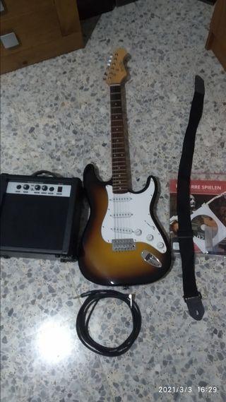 kit guitarra eléctrica