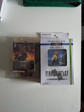 2 Mazos TCG Final fantasy X