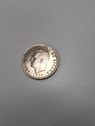 Moneda 5 pesetas 1980 *81