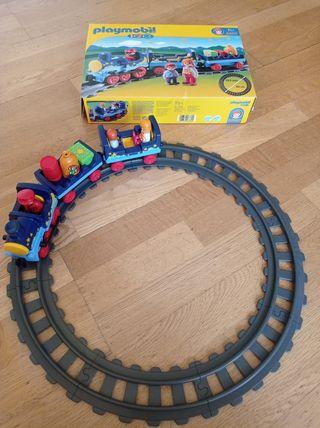 Playmobil 1-2-3 tren
