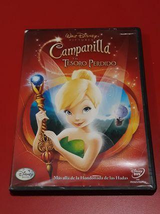DVD CAMPANILLA Y EL TESORO PERDIDO.