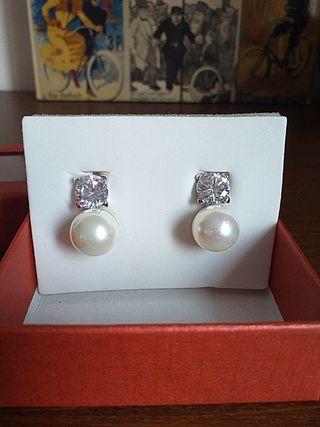 pendientes perlas de Mallorca