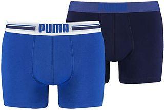 Puma Placed Logo Pack de 2 bóxers para hombr