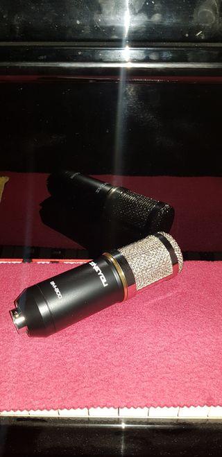 Micrófono con todos sus componentes NUEVO!!