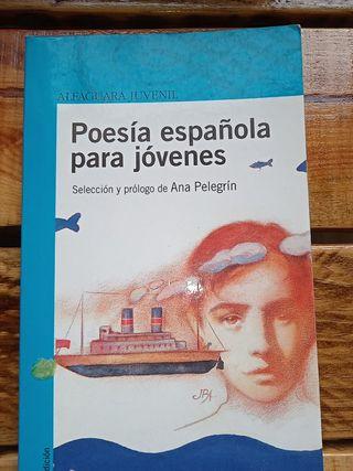 libro poesía española para jóvenes