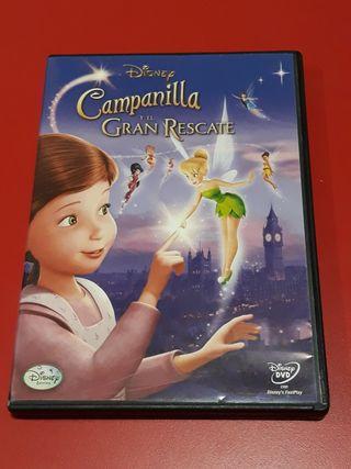 DVD CAMPANILLA Y EL GRAN RESCATE