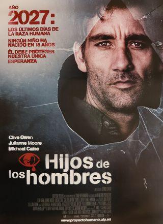 PÓSTER HIJOS DE LOS HOMBRES