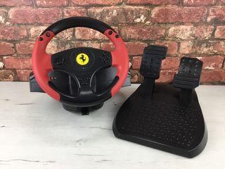 Volante + pedales Thrustmaster Ferrari