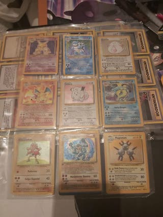 álbum completo base set pokemon