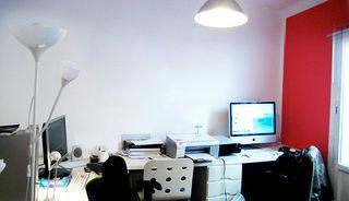 Oficina completa (sillas, mesas, lámparas, cajones